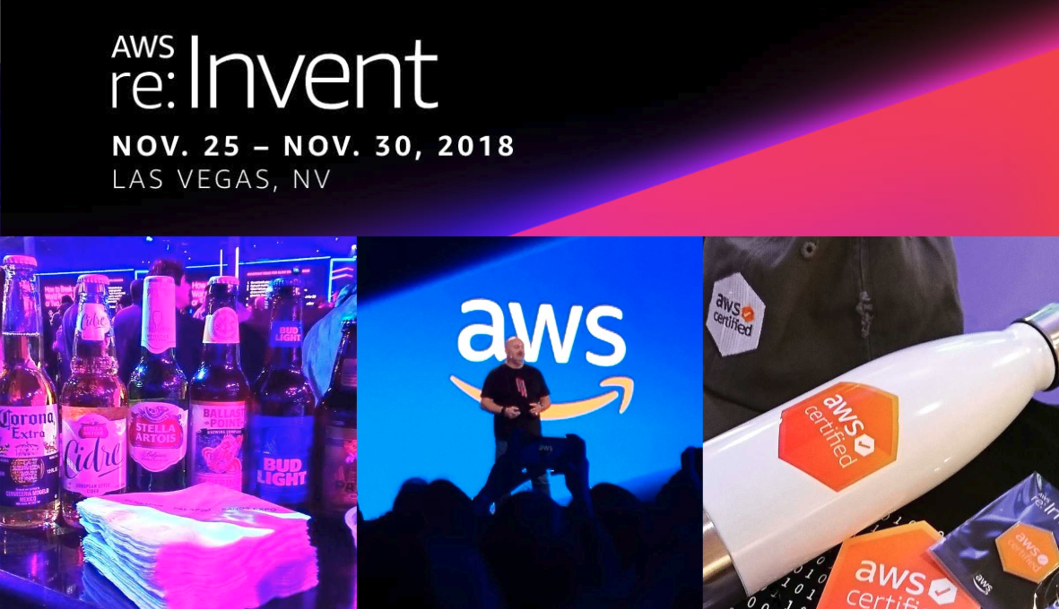 re:Invent 2018 ふりかえり