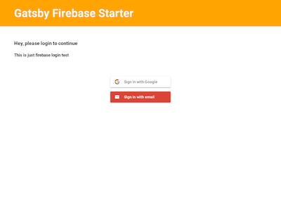gatsby-starter-firebase